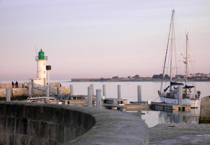 Le port de La Flotte