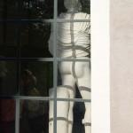 """""""Dos à la fenêtre"""", Villa Médicis, Rome, 2012"""